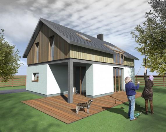 Dom jednorodzinny 100 m2