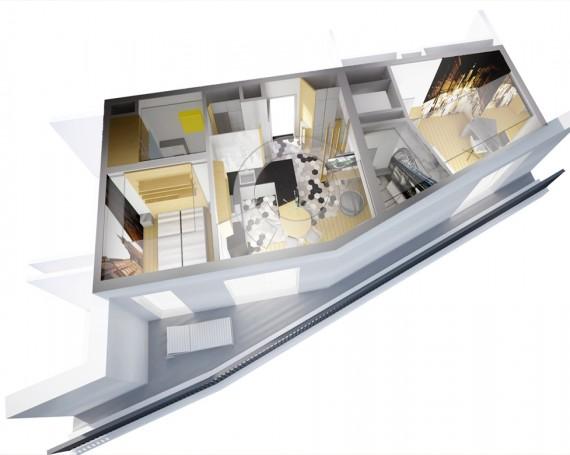 Browar Lubicz – mieszkanie prywatne