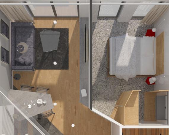 Lubostron – mieszkanie prywatne